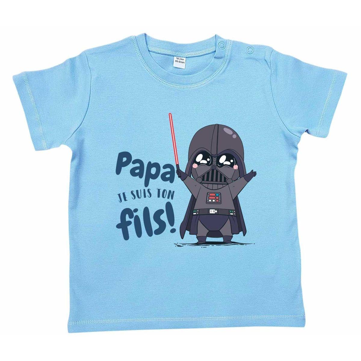T-shirt Bébé Papa Je Suis Ton Fils