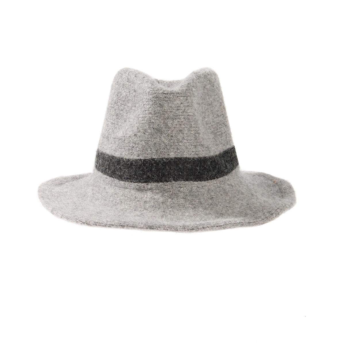 ШляпаОписание:Состав и описание :  •  Материал : акрил •  Марка :  Atelier R.  •  Размер : единый<br><br>Цвет: серый меланж<br>Размер: единый размер