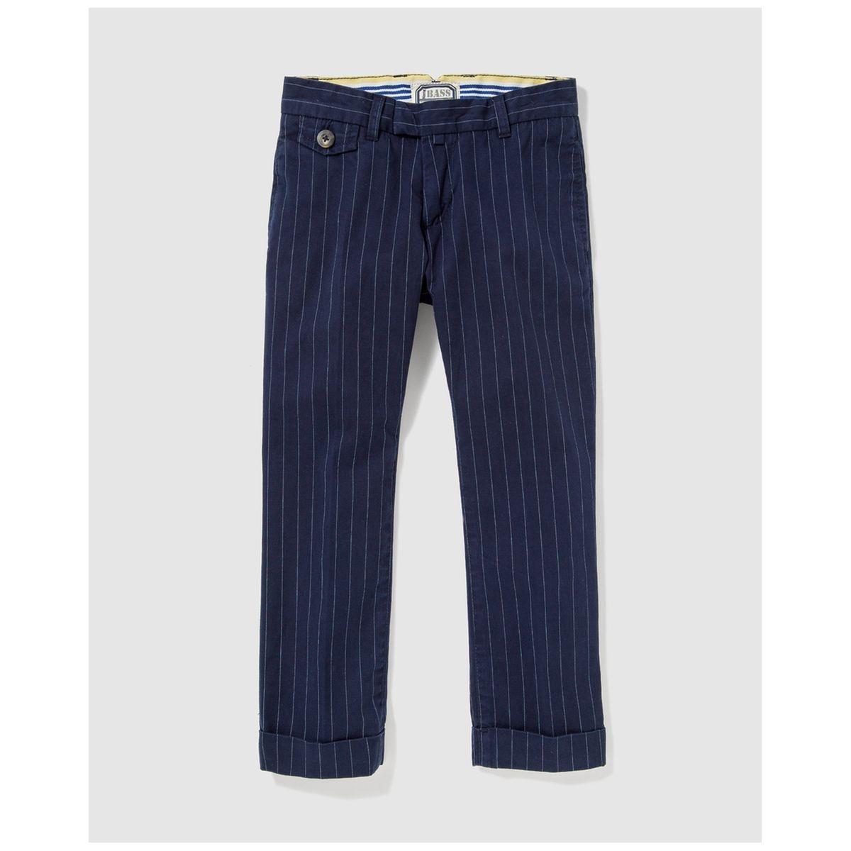Pantalon bleu à motif tennis