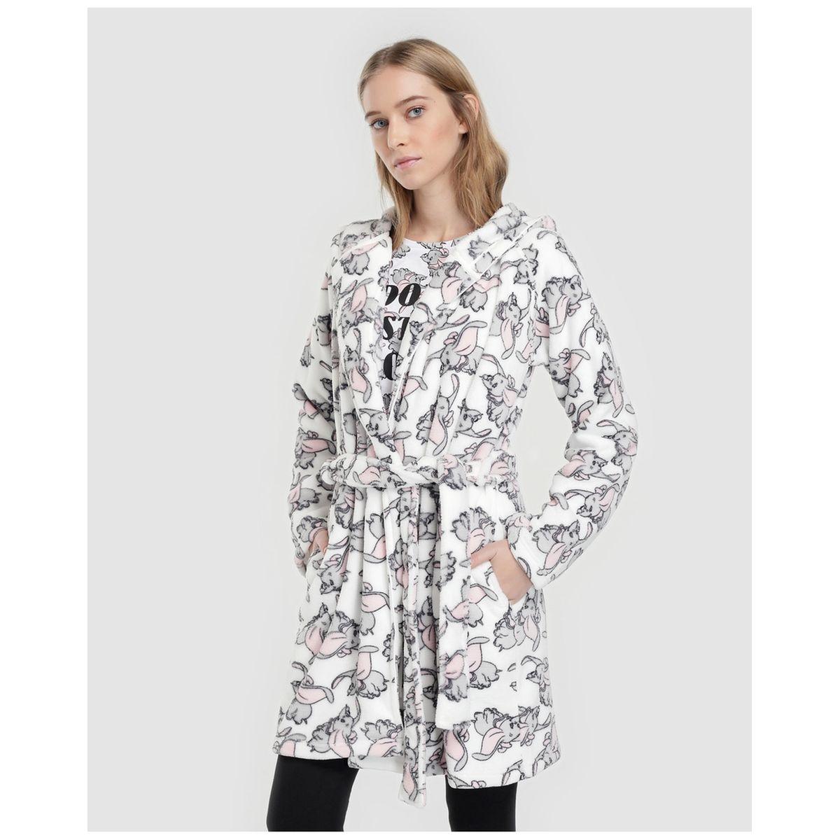 Robe de chambre imprimé Dumbo avec ceinture