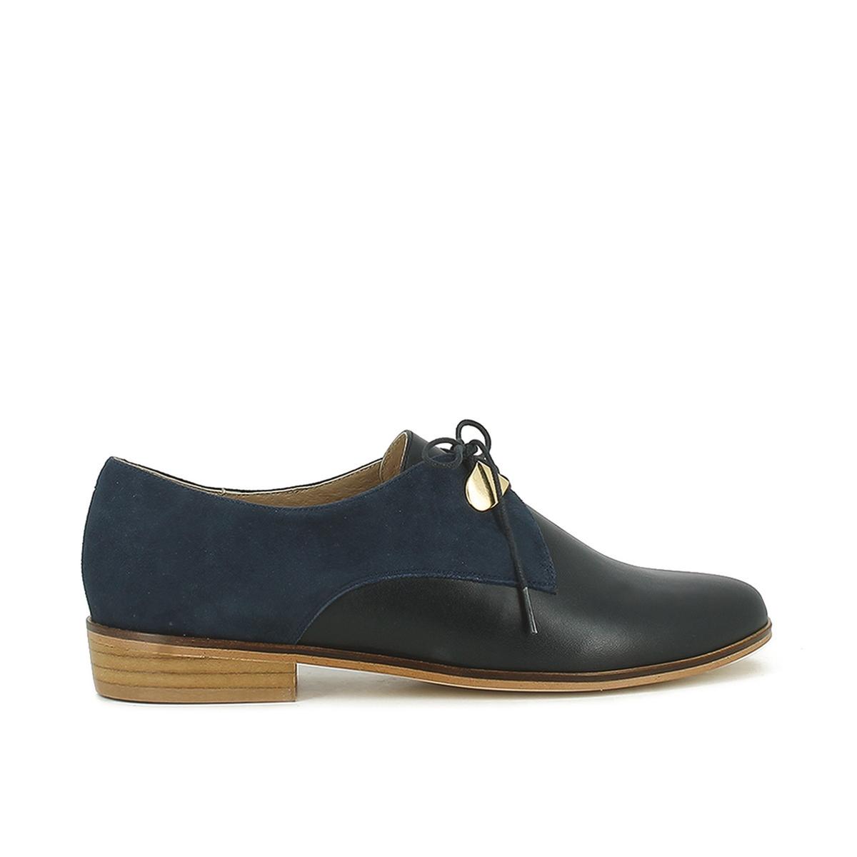Ботинки-дерби кожаные на шнуровке, Divya ботинки дерби кожаные
