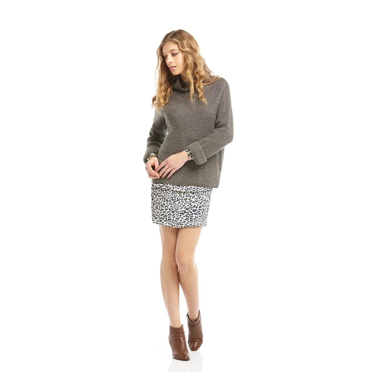Пуловер с рукавами 7/8, 40% мохераСостав и описание:   Марка:       CHARLISE.   Материал:      40% мохера, 37% полиамида, 23% акрила.<br><br>Цвет: антрацит<br>Размер: L