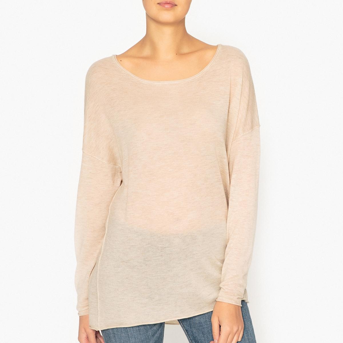 Пуловер свободный из шерсти и кашемира MAGNOLIA