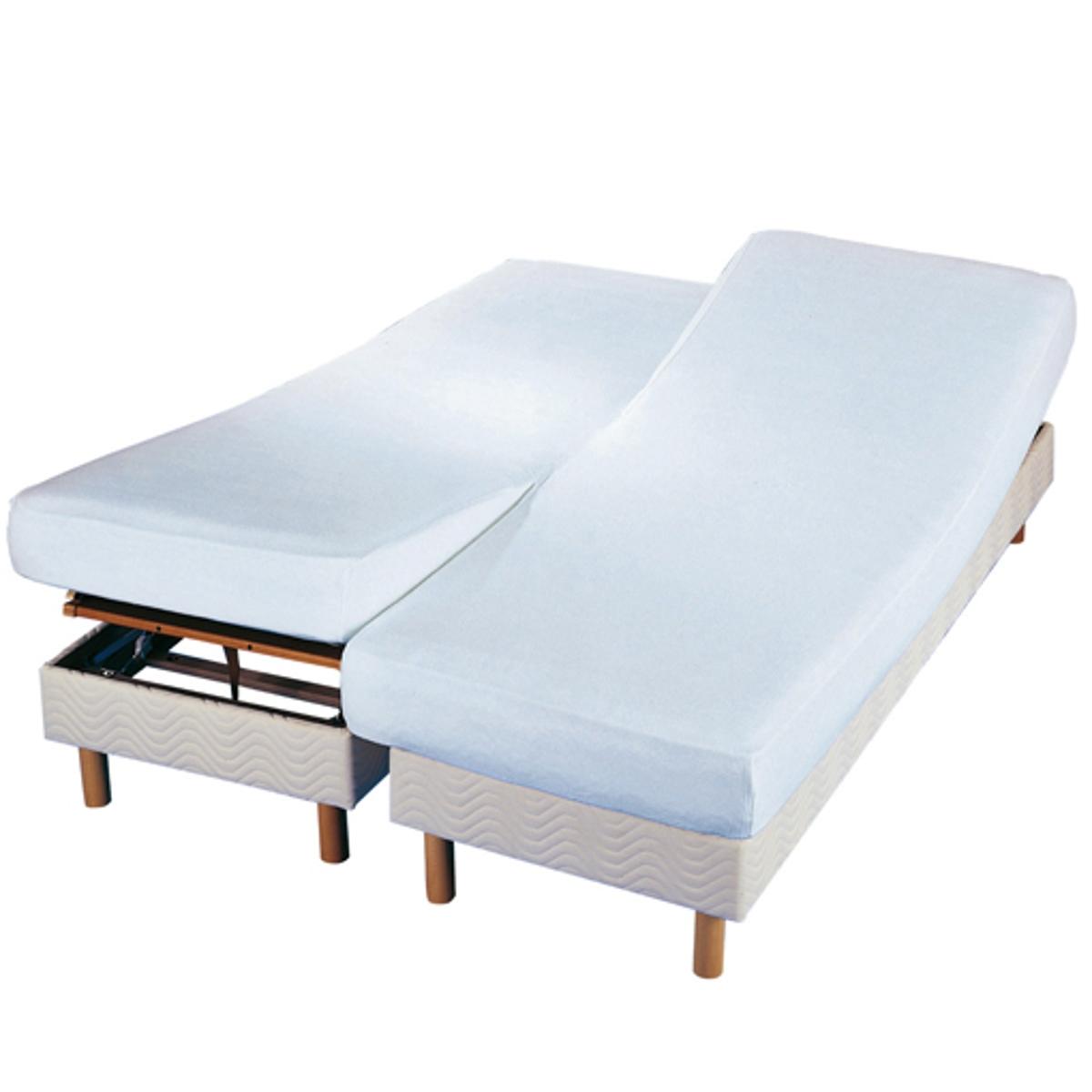 Чехол защитный двойной для матраса из мольтона с обработкой против клещей чехол защитный для подушки из стретч мольтона