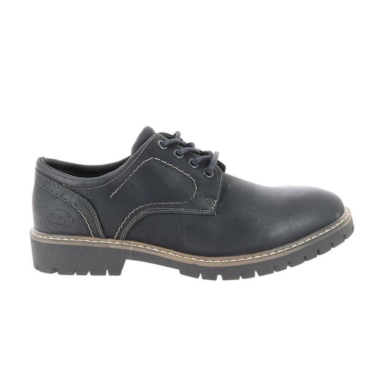 chaussures à lacets synthetique