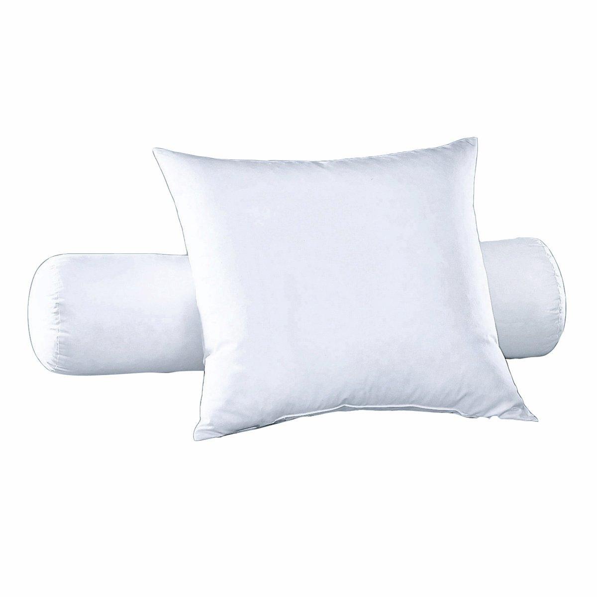 Валик с обработкойУдобная упругая подушка-валик, сохраняющая свои свойства долгое время   . Обработка Proneem (защита от клещей на 100 % на основе биоразлагаемых натуральных компонентов  .HOLLOFIL® ECO, Первое полиэстеровое волокно, отвечающее требованиям ECO LABEL EUROP?EN (организации, продвигающей использование наименее вредных для окружающей среды продуктов)   : . Этот наполнитель обеспечивает отличную поддержку и долговечен в использовании .             Чехол 50% хлопка, 50 % полиэстера  .             Машинная стирка при 40 °С.Биоцидная обработка                            Длина в см .<br><br>Цвет: белый<br>Размер: длина: 90 см.длина: 160 см