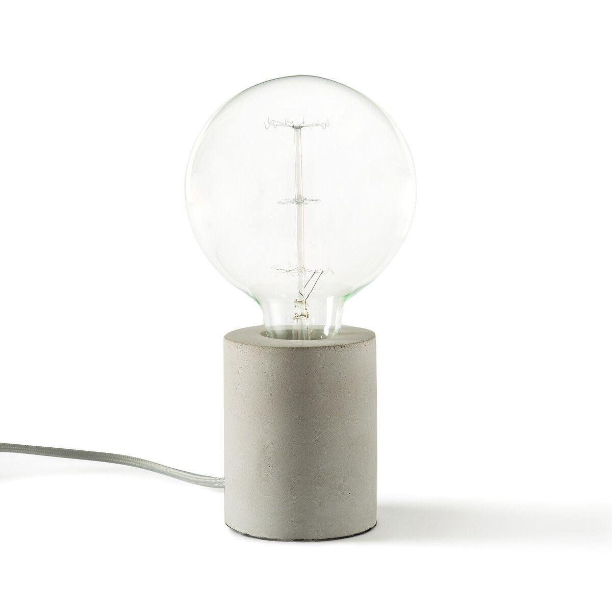 Lampe à poser effet béton Naya