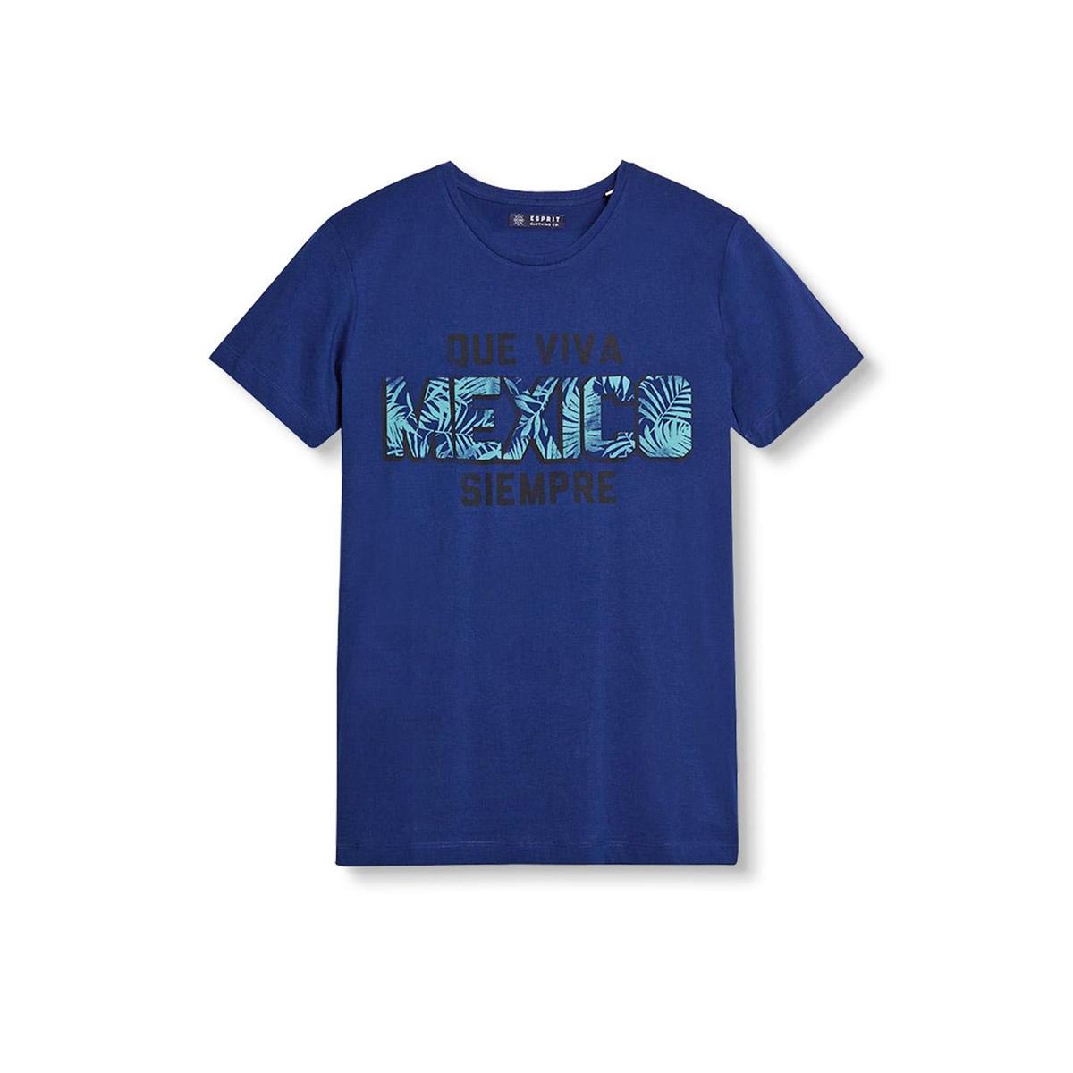 Футболка с рисунком в виде надписи Mexico футболка esprit hc3703fc
