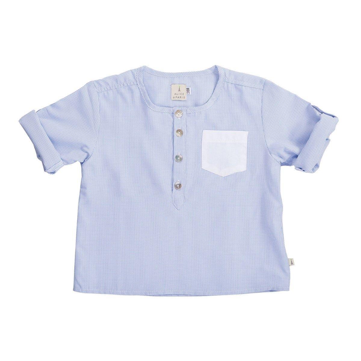 Chemise bébé décontractée-chic