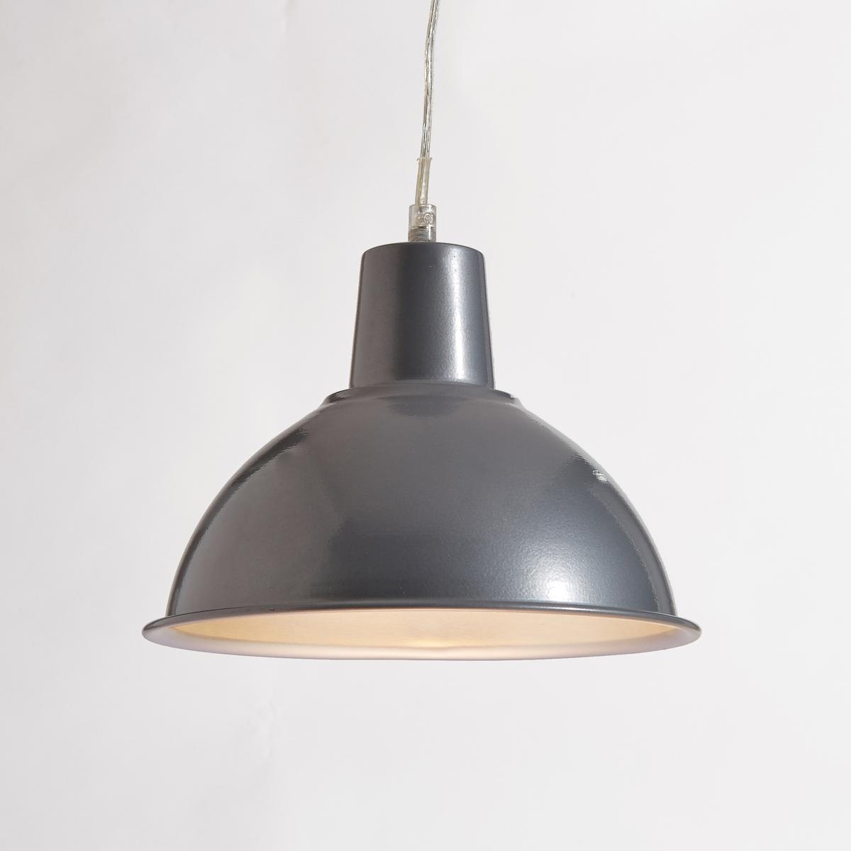 Светильник из металла в индустриальном стиле, LamiОписание светильника  Lami  :Электрифицированный Патрон E27 для флюокомпактной лампочки 15W (не входит в комплект)  .Этот светильник совместим с лампочками    энергетического класса   : AХарактеристики светильника  Lami  :выполнена из металлаВсю коллекцию светильников вы можете найти на сайте laredoute.ru.Размер светильника  Lami  :Диаметр : 25,5 смВысота : 18 см.<br><br>Цвет: красный,серый