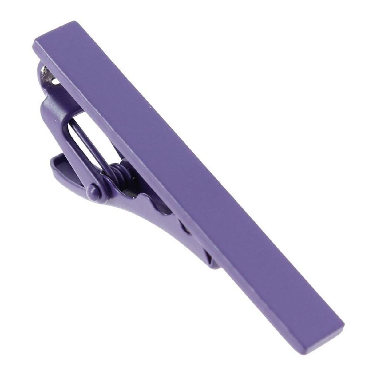 Pince à cravate violet Phoenix