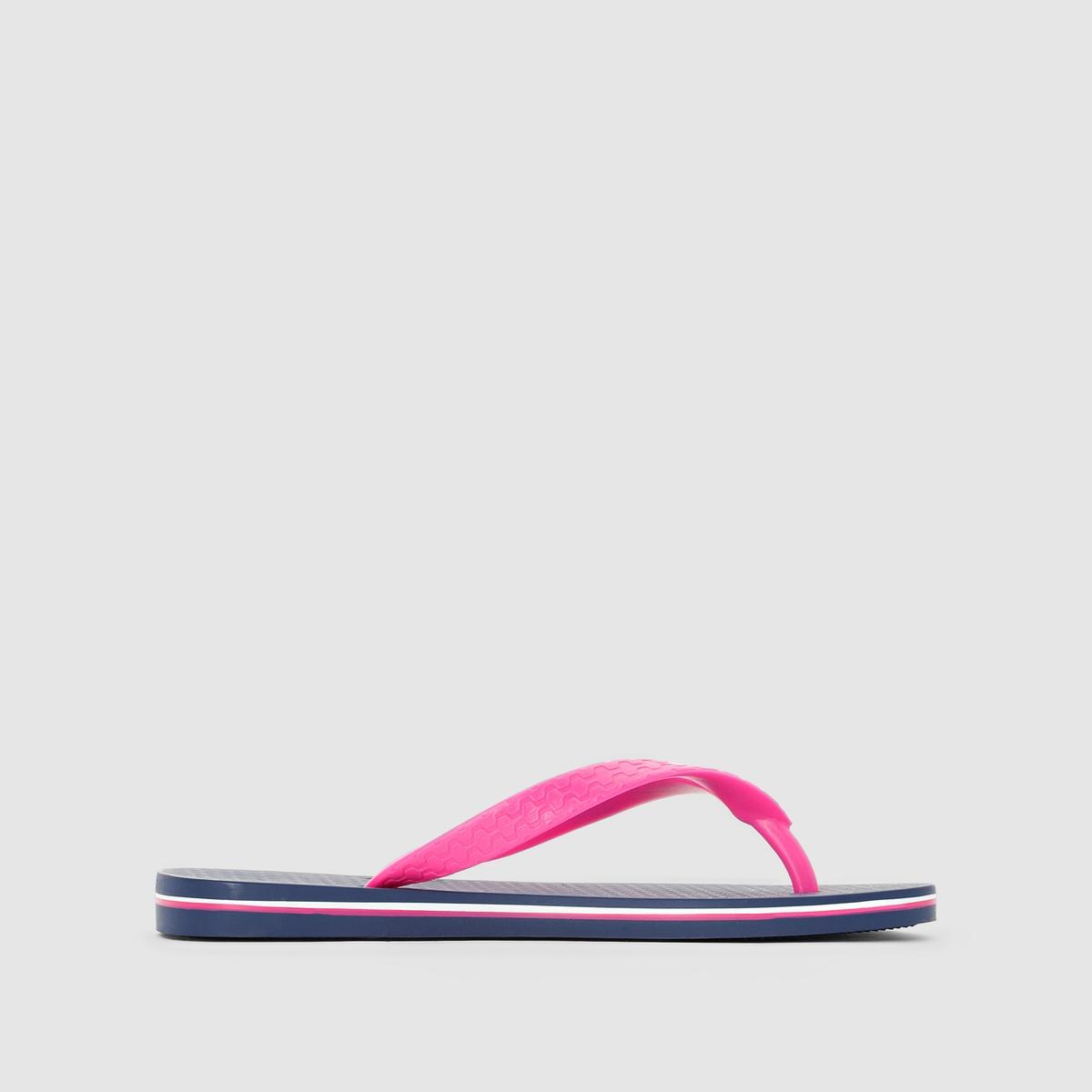 Вьетнамки Classic Brazil II FemВерх/Голенище : каучук   Стелька : каучук   Подошва : каучук   Форма каблука : плоский каблук   Мысок : открытый мысок   Застежка : без застежки<br><br>Цвет: синий/ розовый<br>Размер: 39/40