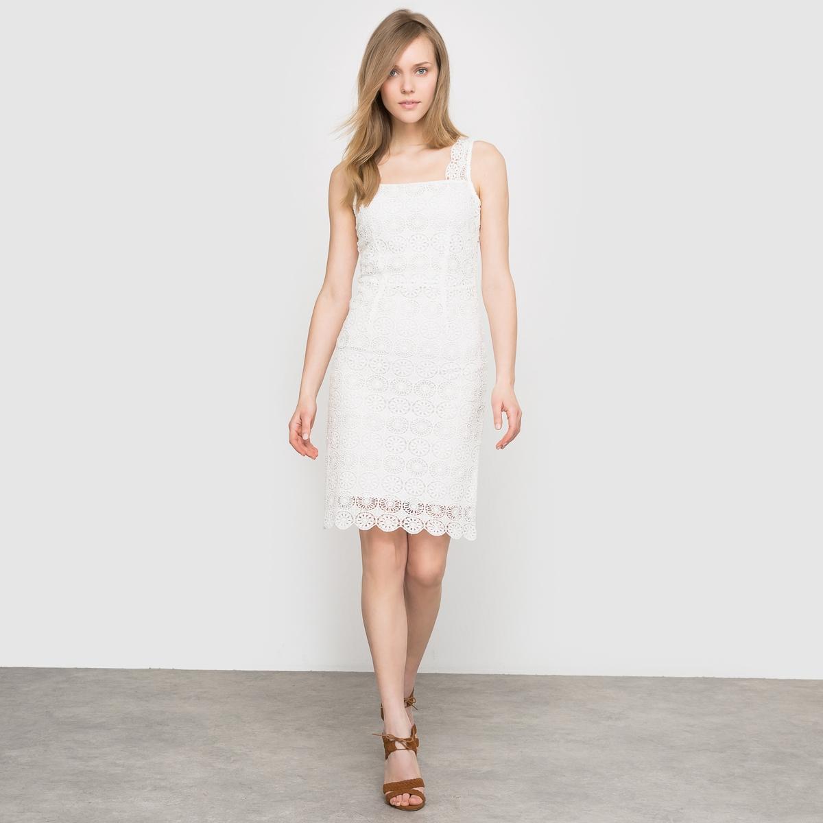 Платье из тонкого кружева 100% хлопка от La Redoute Collections