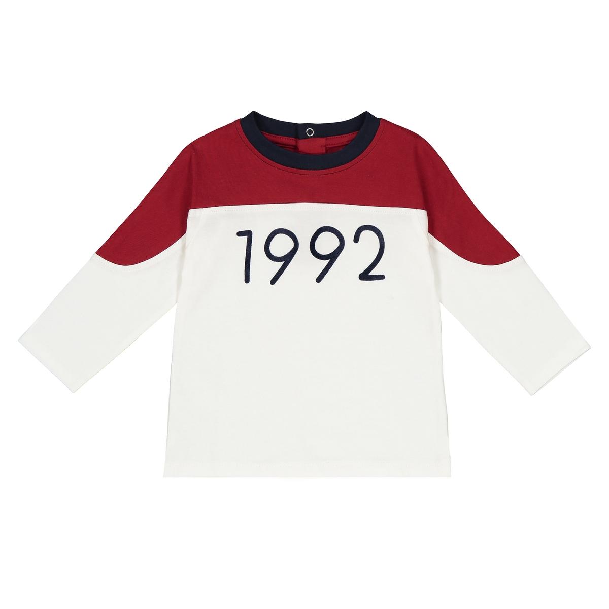 Футболка с длинными рукавами, 1 мес. - 3 года футболка с длинными рукавами 1 мес 3 лет
