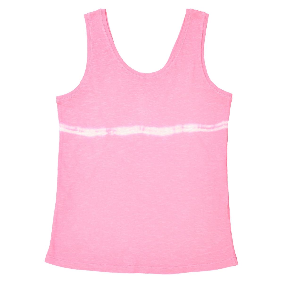 Топ La Redoute С принтом тай-энд-дай 12 розовый шорты la redoute плавательные с принтом джунгли мес года 18 мес 81 см синий
