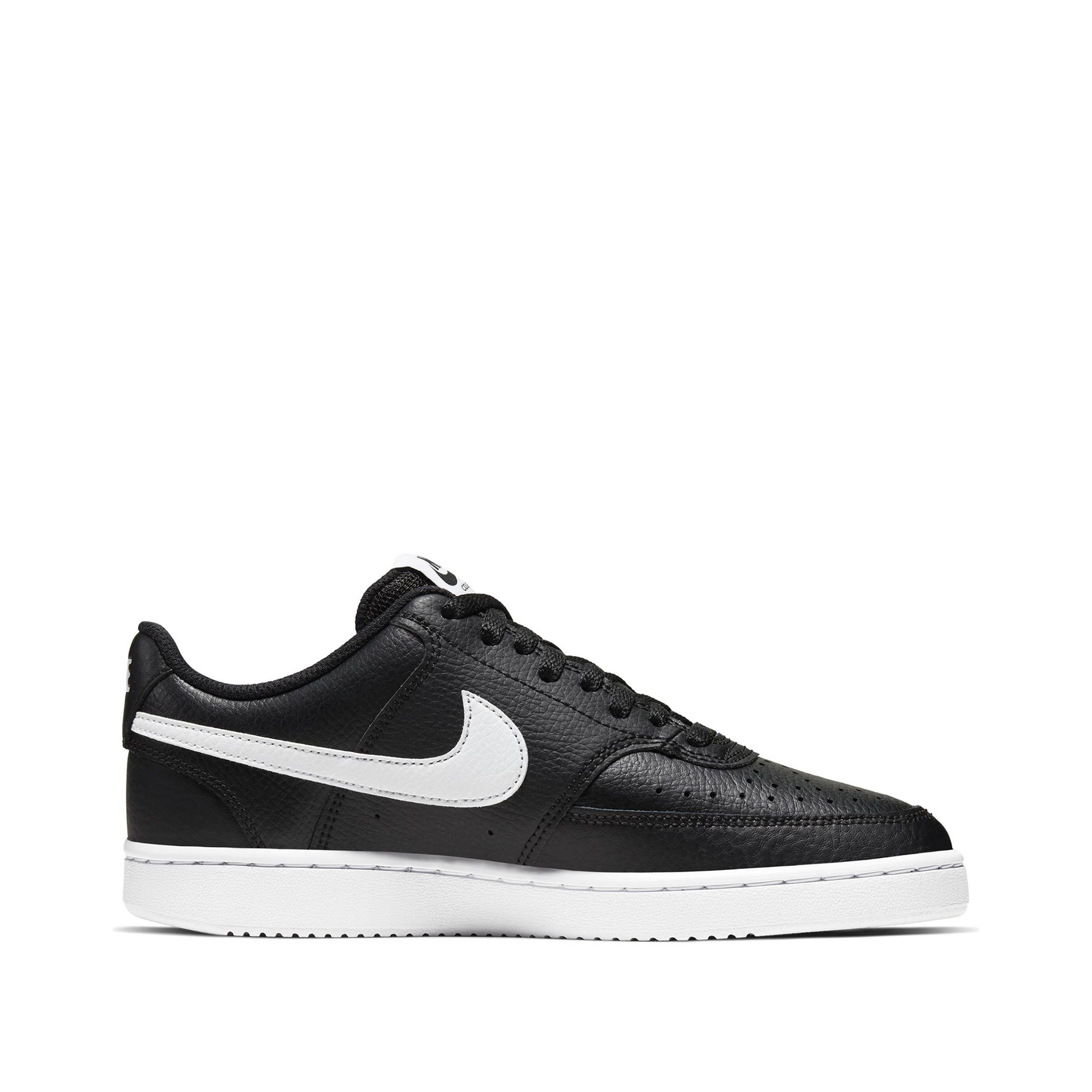 NIKE Court vision low sneakers zwart/wit dames online kopen