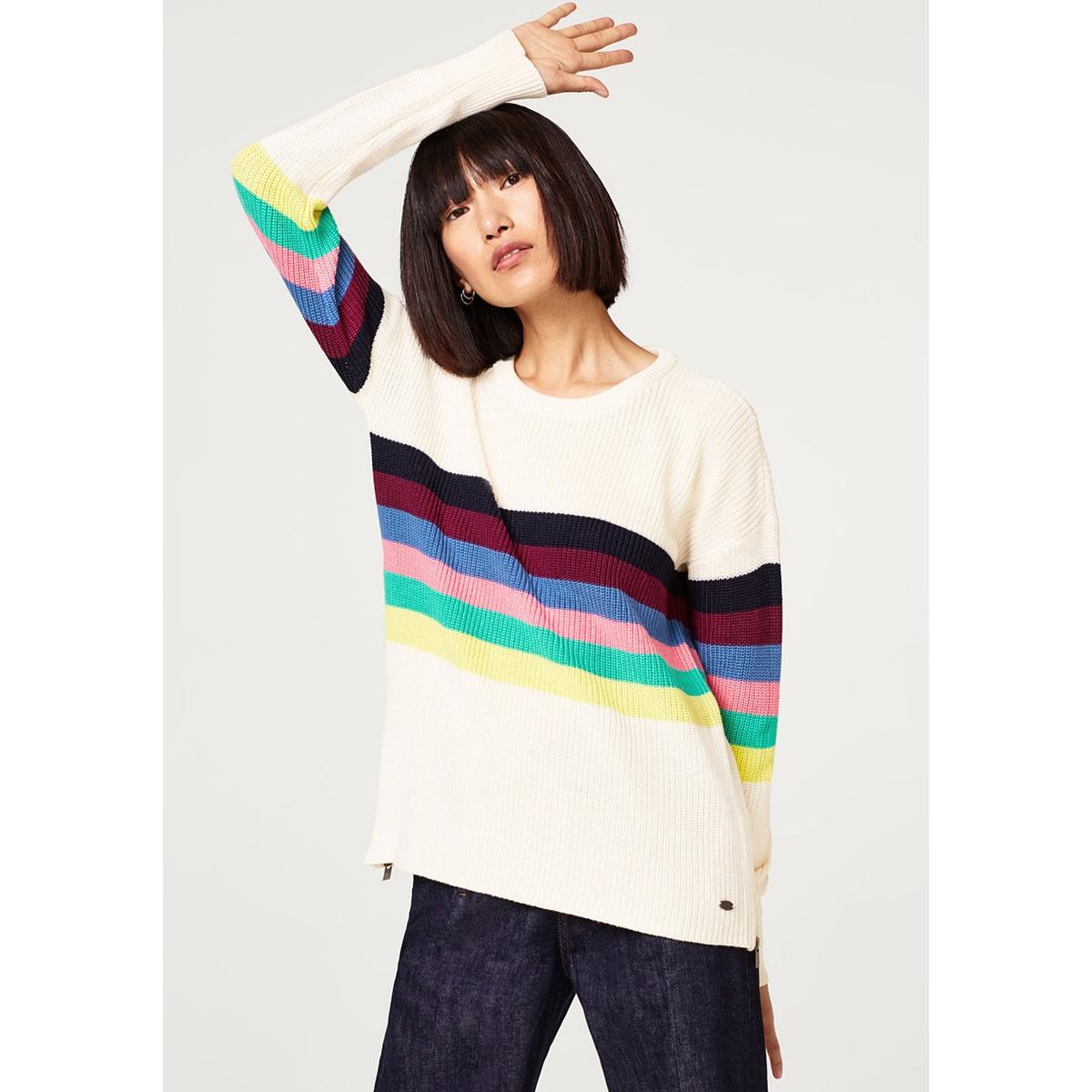 Jersey a rayas multicolor