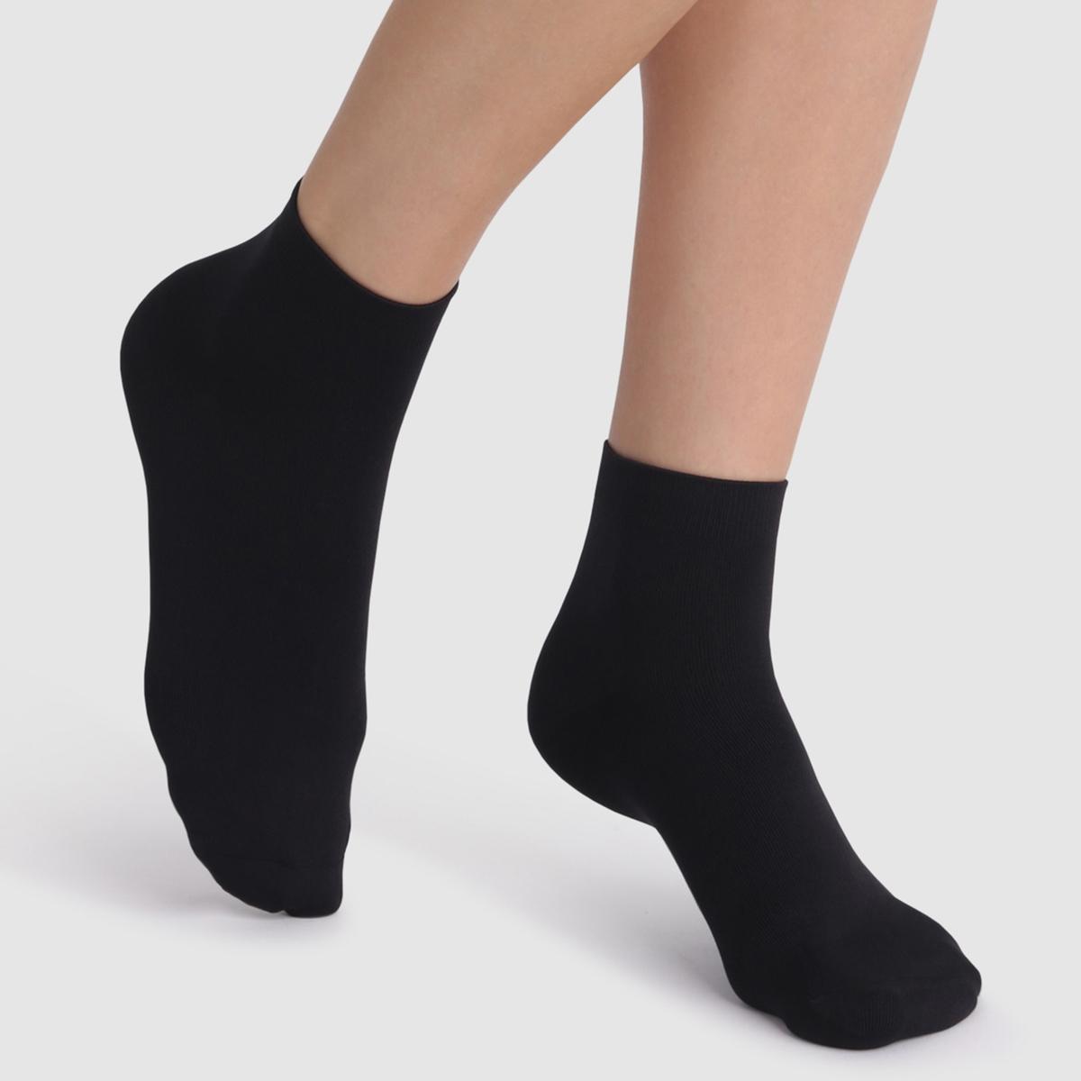Imagen principal de producto de Calcetines cortos suaves Skin (lote de 2 pares) - DIM