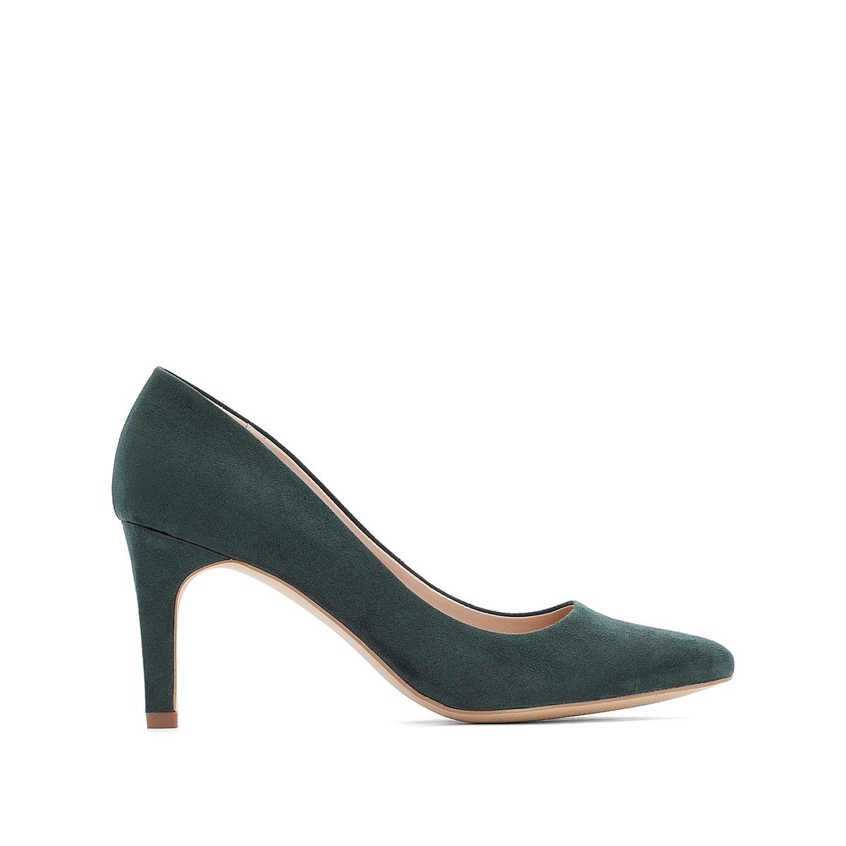 Туфли La Redoute На высоком каблуке 40 зеленый