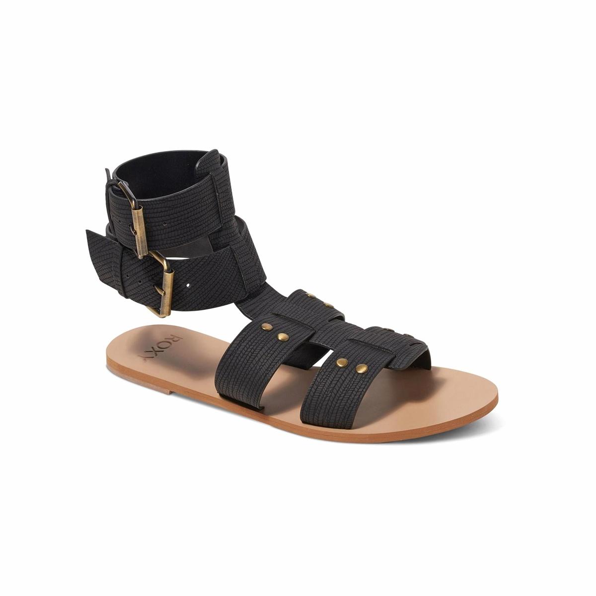 Сандалии TylerВерх : синтетика   Подошва : каучук   Форма каблука : плоский каблук   Мысок : открытый мысок   Застежка : ремешок/пряжка<br><br>Цвет: черный
