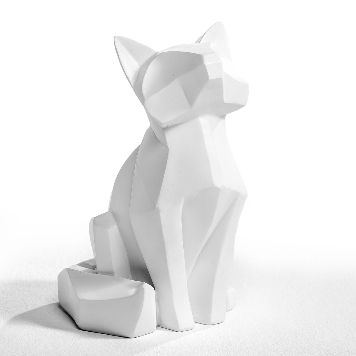 Фигурка Raposa, большая модельЛис из резины, модель оригами. Размеры: Ш.12 x В.20 см x Г. ок.11 см.<br><br>Цвет: белый