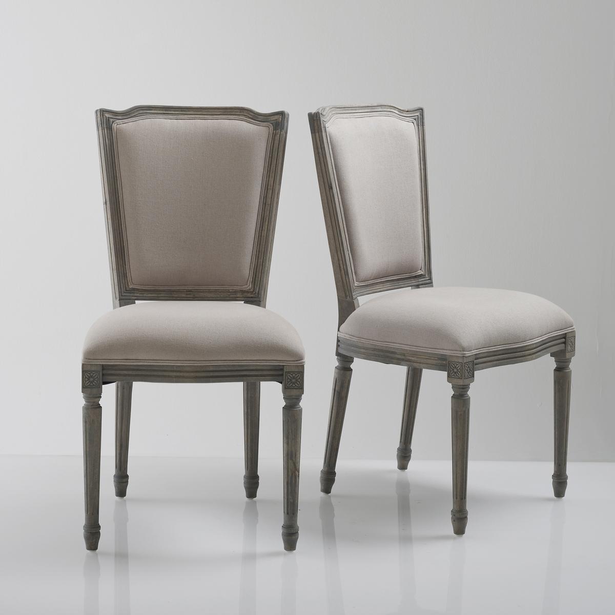 Комплект из 2 стульев в стиле Людовика XVI, Trianon соусница trianon v 160 мл 839295