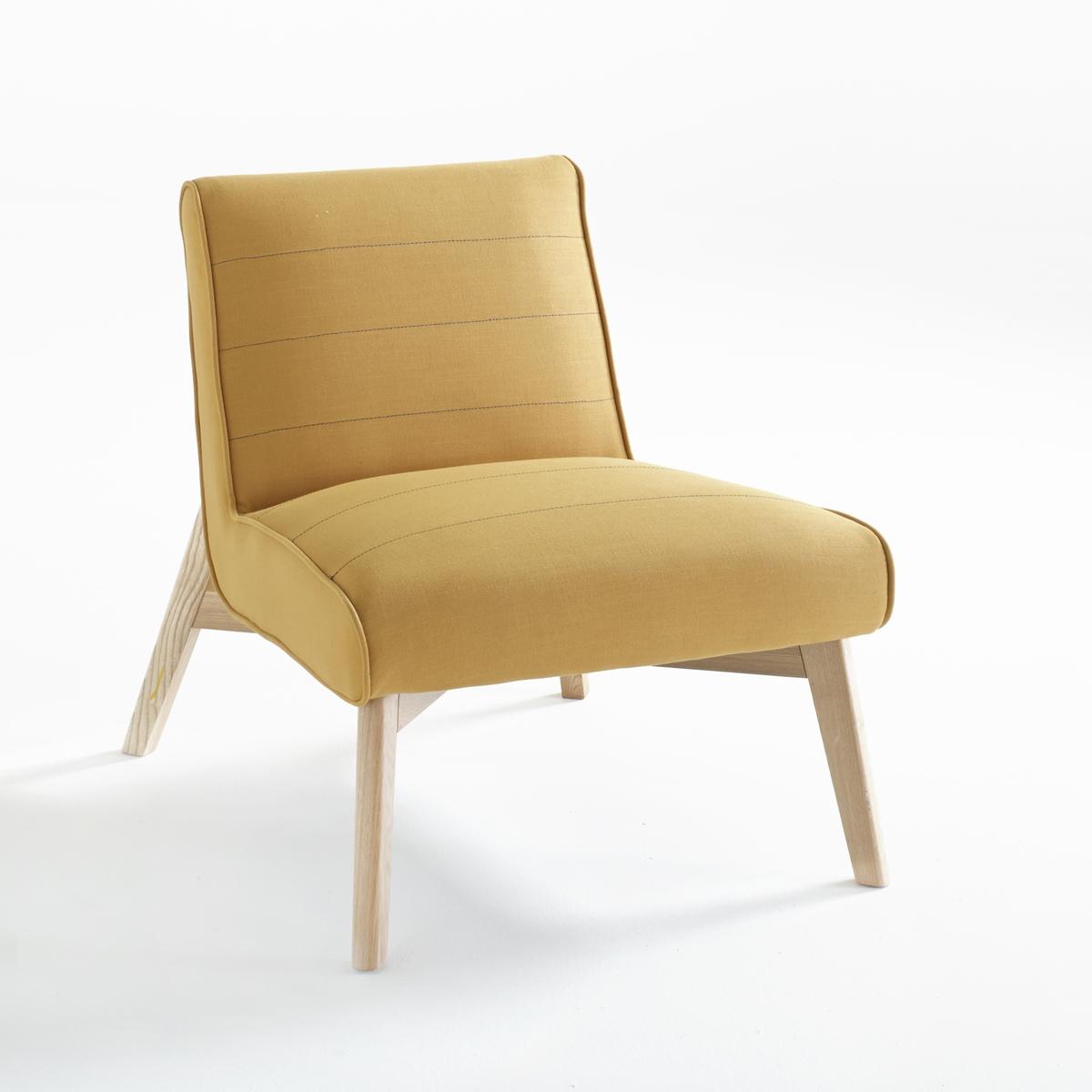 Кресло LaRedoute Jimi единый размер желтый