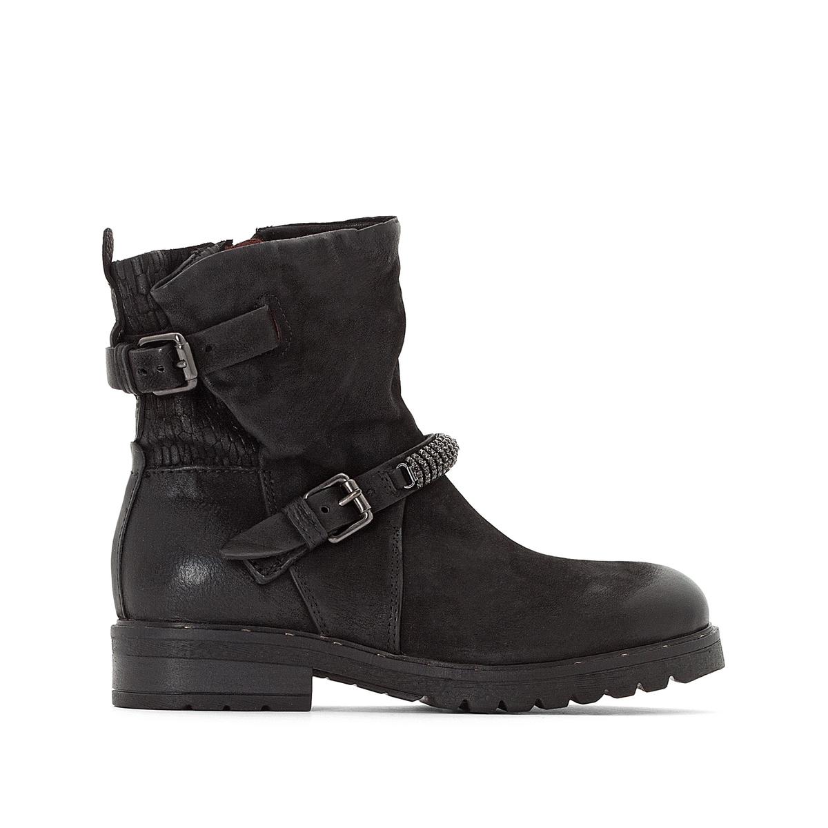 Ботинки кожаные Peperita