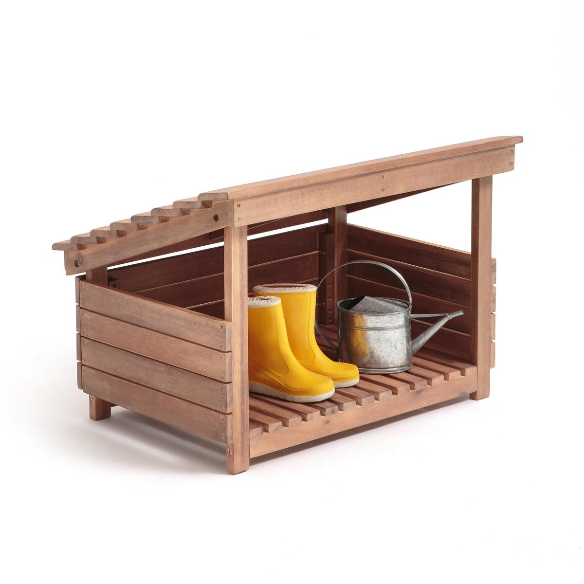 Домик садовый из дерева акации CALEB стол для сада из акации fsc caleb