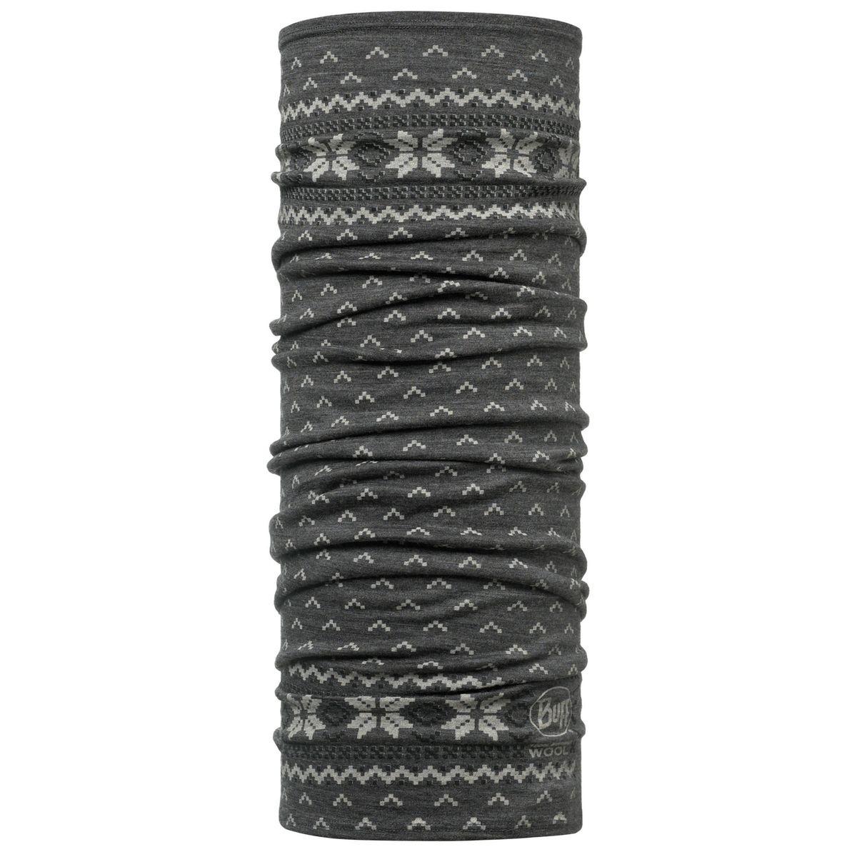 Lightweight Merino Wool - Foulard - gris