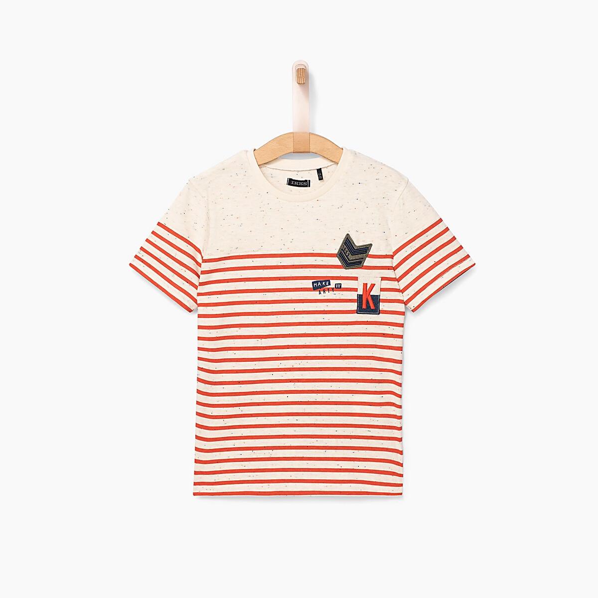 T-shirt manches courtes rayé 4-14 ans