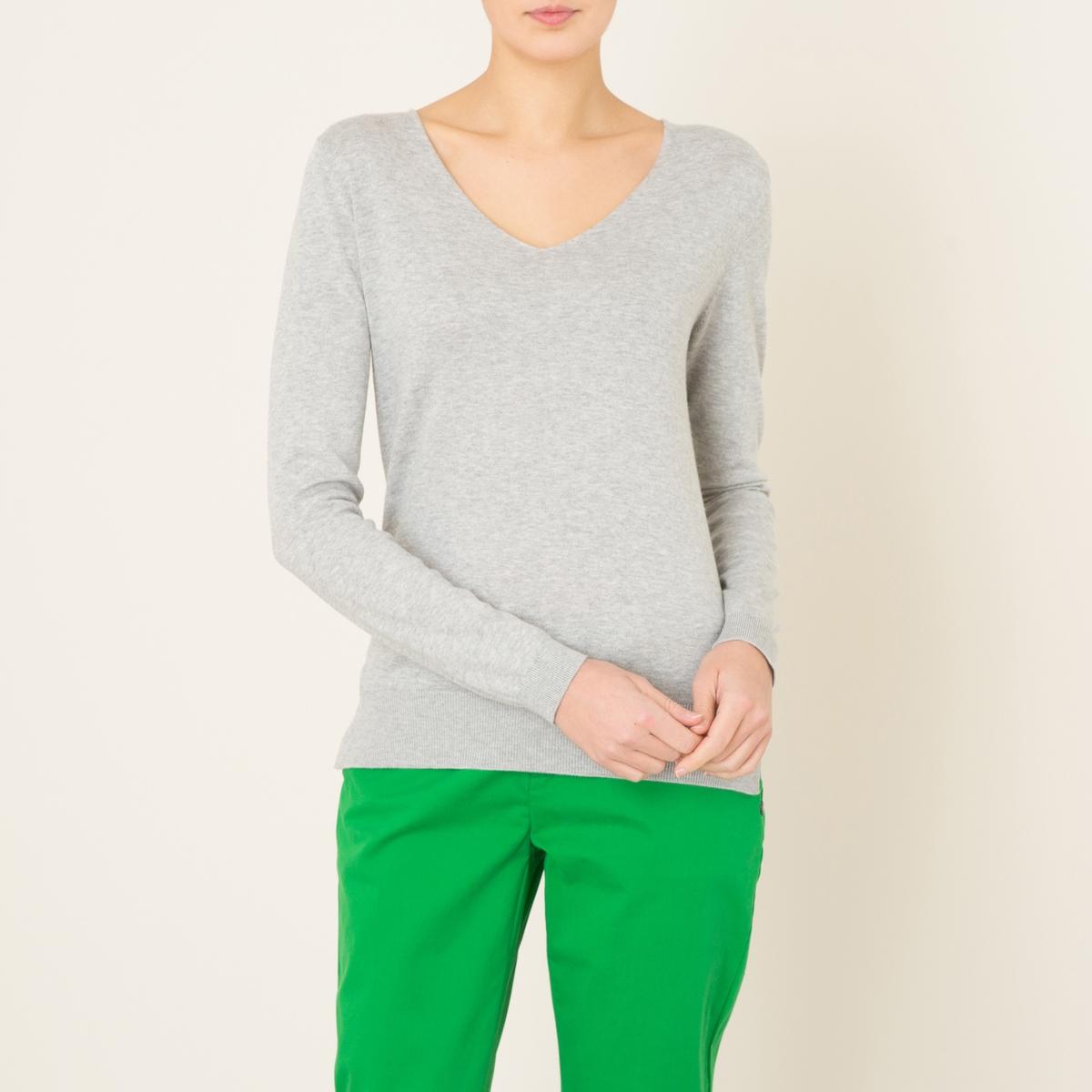 Пуловер YANСостав и описание    Материал : 70% хлопка, 20% шелка, 10% кашемираМарка : BERENICE<br><br>Цвет: серый