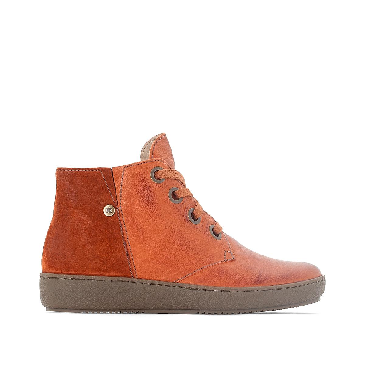 Ботинки кожаные Faleen цены онлайн