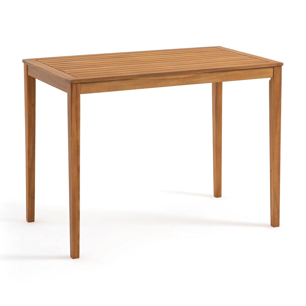 Стол La Redoute Барный для сада из акации Garden единый размер бежевый стол из акации dakota