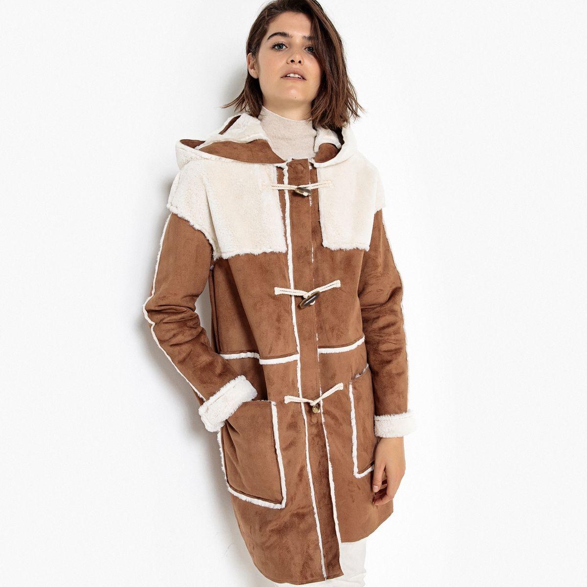 Duffle coat à capuche