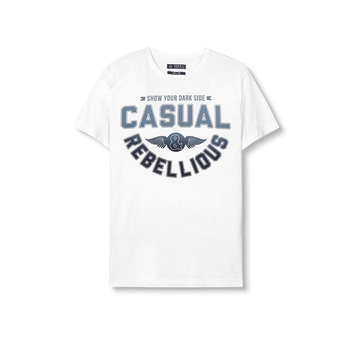 Футболка с круглым вырезом футболка мужская esprit 025ee2k027c 15 259