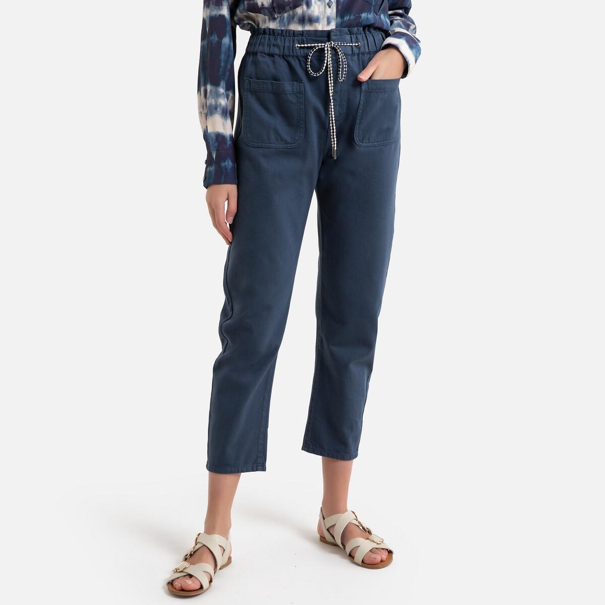 Pantalon à taille élastique DINAH