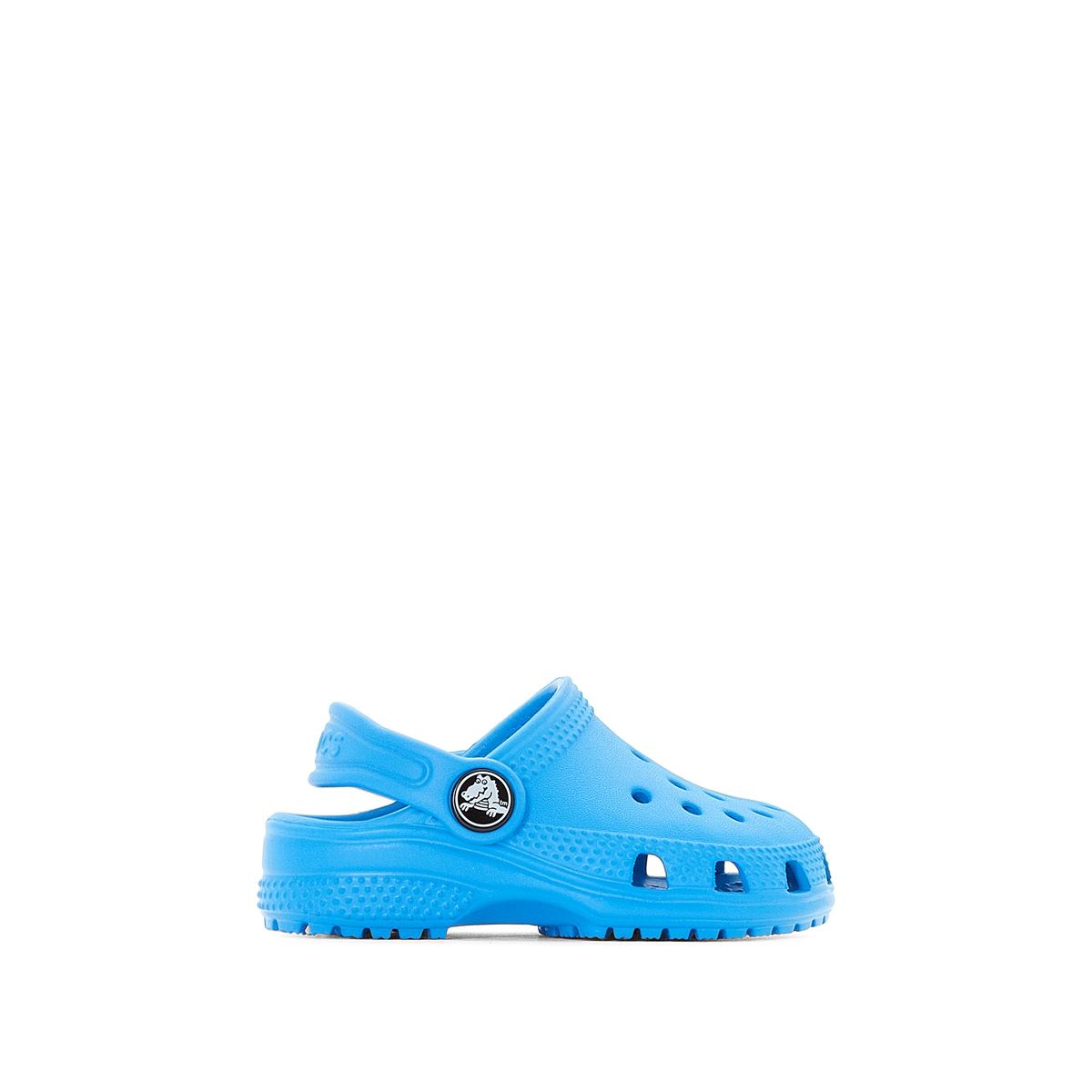 Сабо Classic Clog KidsОписание:Детали •  Сабо •  Высота каблука : 1,5 см •  Застежка : ремешок/пряжка •  Круглый мысок •  Гладкая отделкаСостав и уход •  Верх/Голенище : 100% синтетический материал •  Подошва : 100% синтетический материал<br><br>Цвет: синий океан