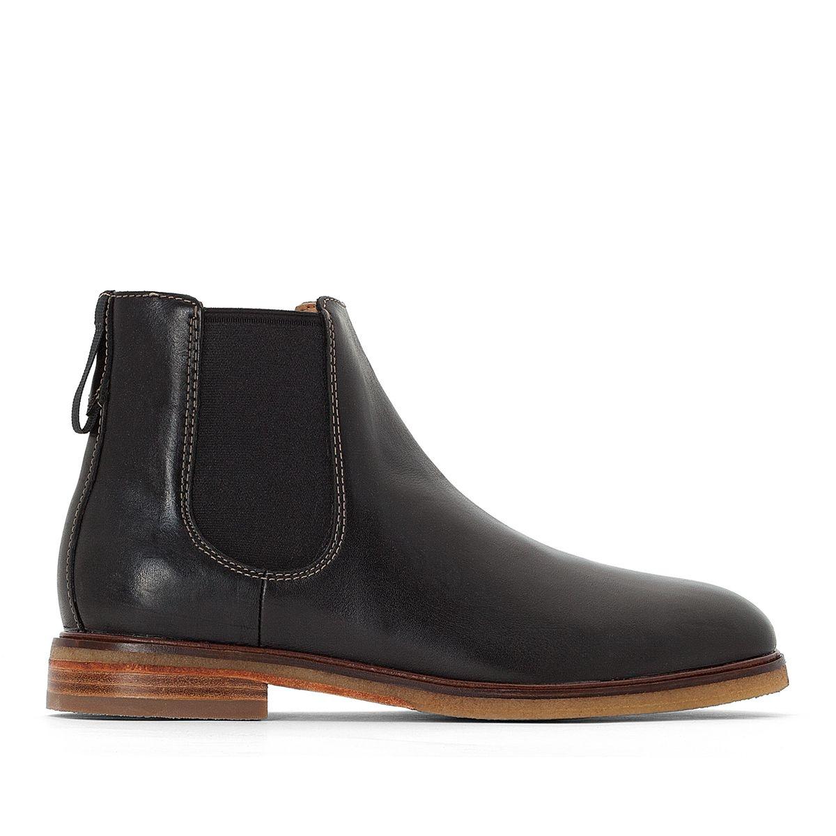 Boots cuir chelasea Clarkdale Gobi