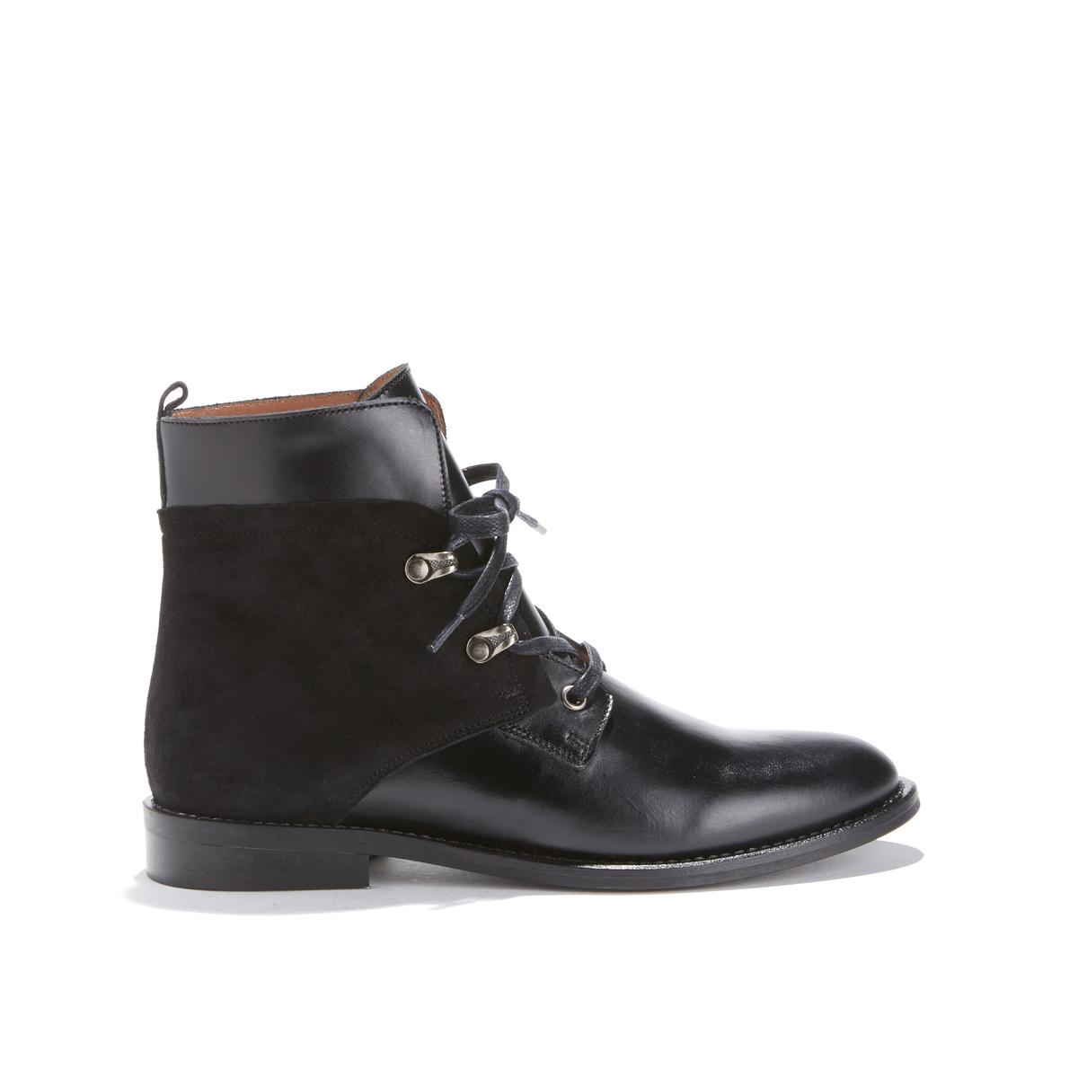 Ботильоны в мужском стиле на шнуровке DANIFA BIS