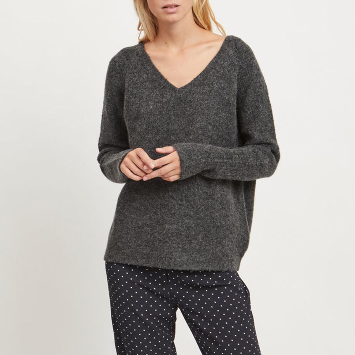 Пуловер Viplace,треугольный вырез