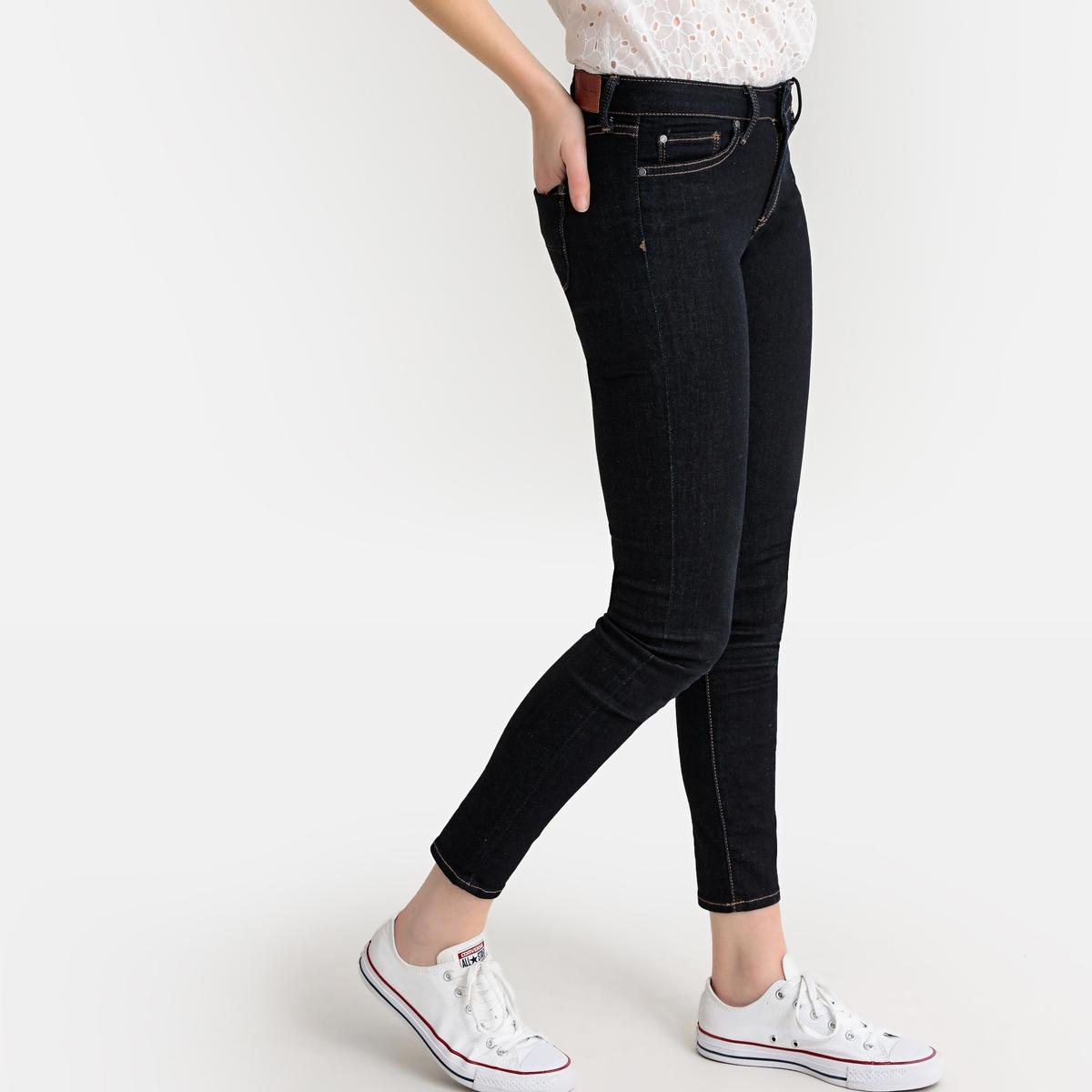 цена Джинсы La Redoute Скинни Mia покрой с карманами 29/30 синий онлайн в 2017 году