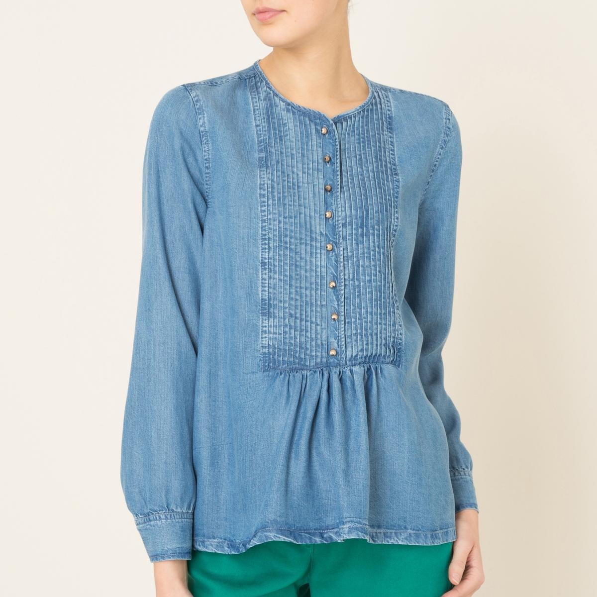 Блузка из тенселя PANTIN