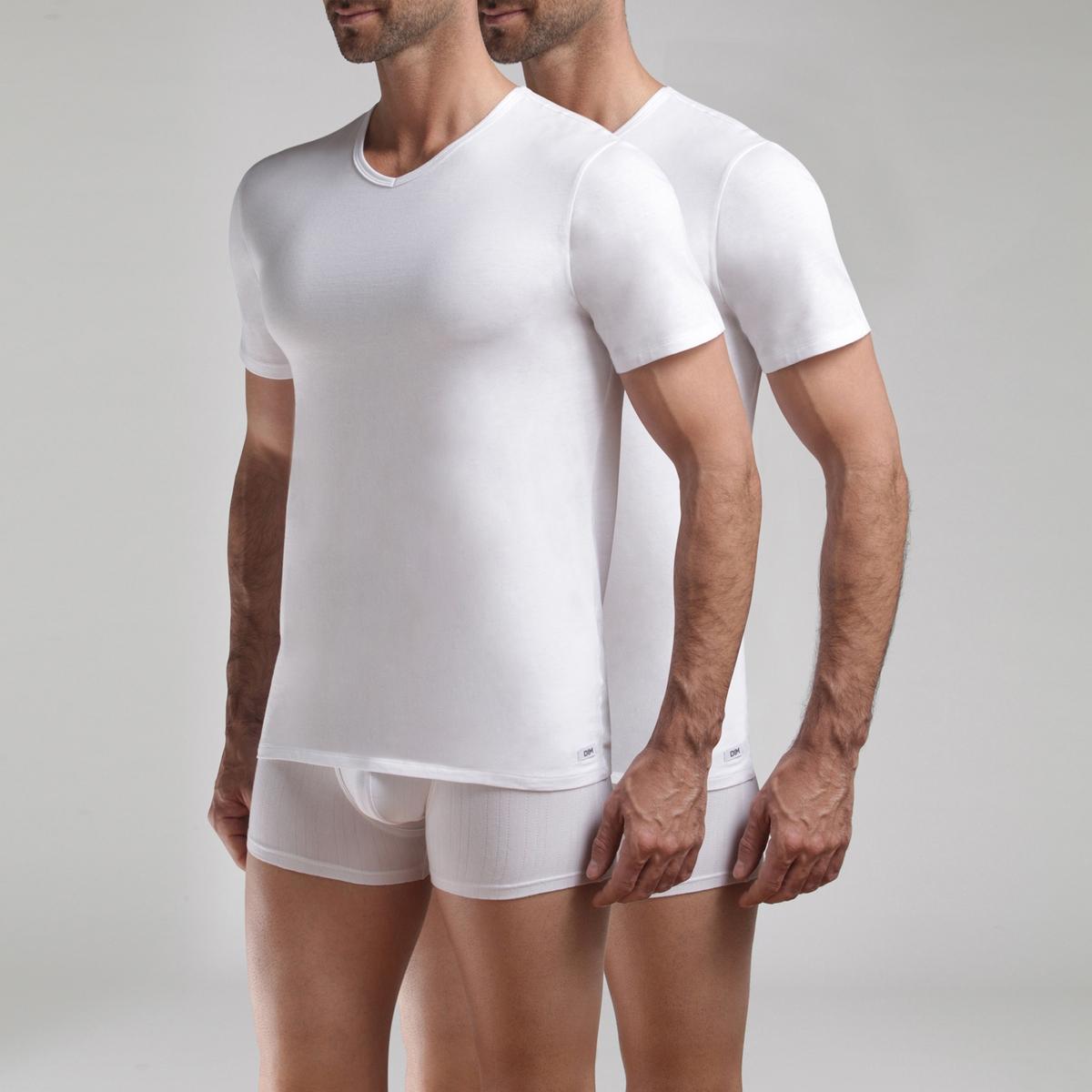 Lote de 2 t-shirts lisas Long Life