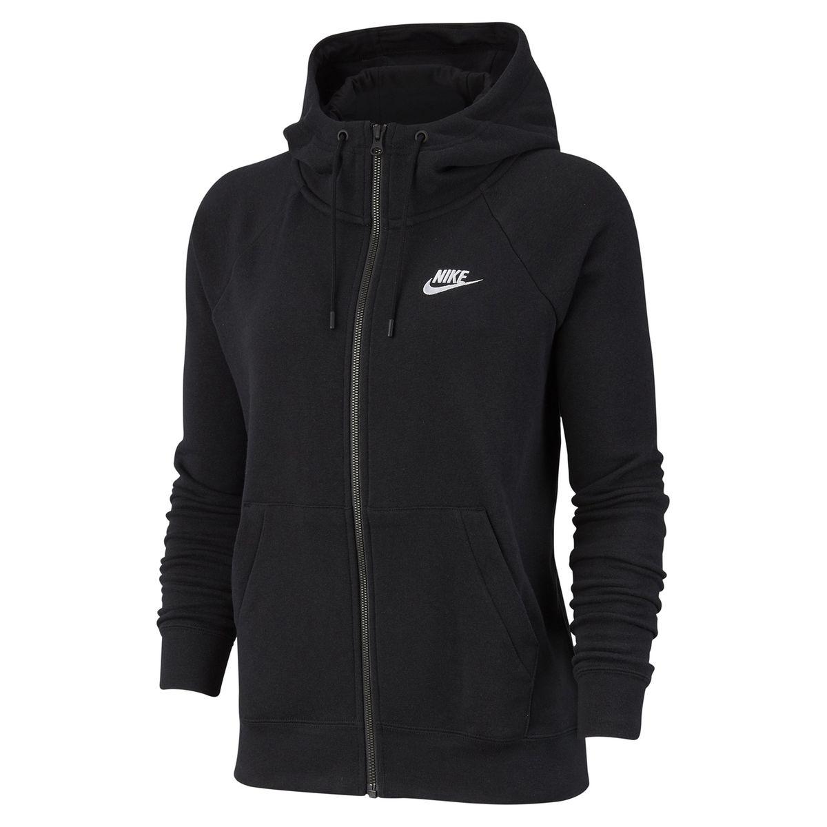 Veste sweat zippée Essentiel Hoodie à capuche | Shopmeaway