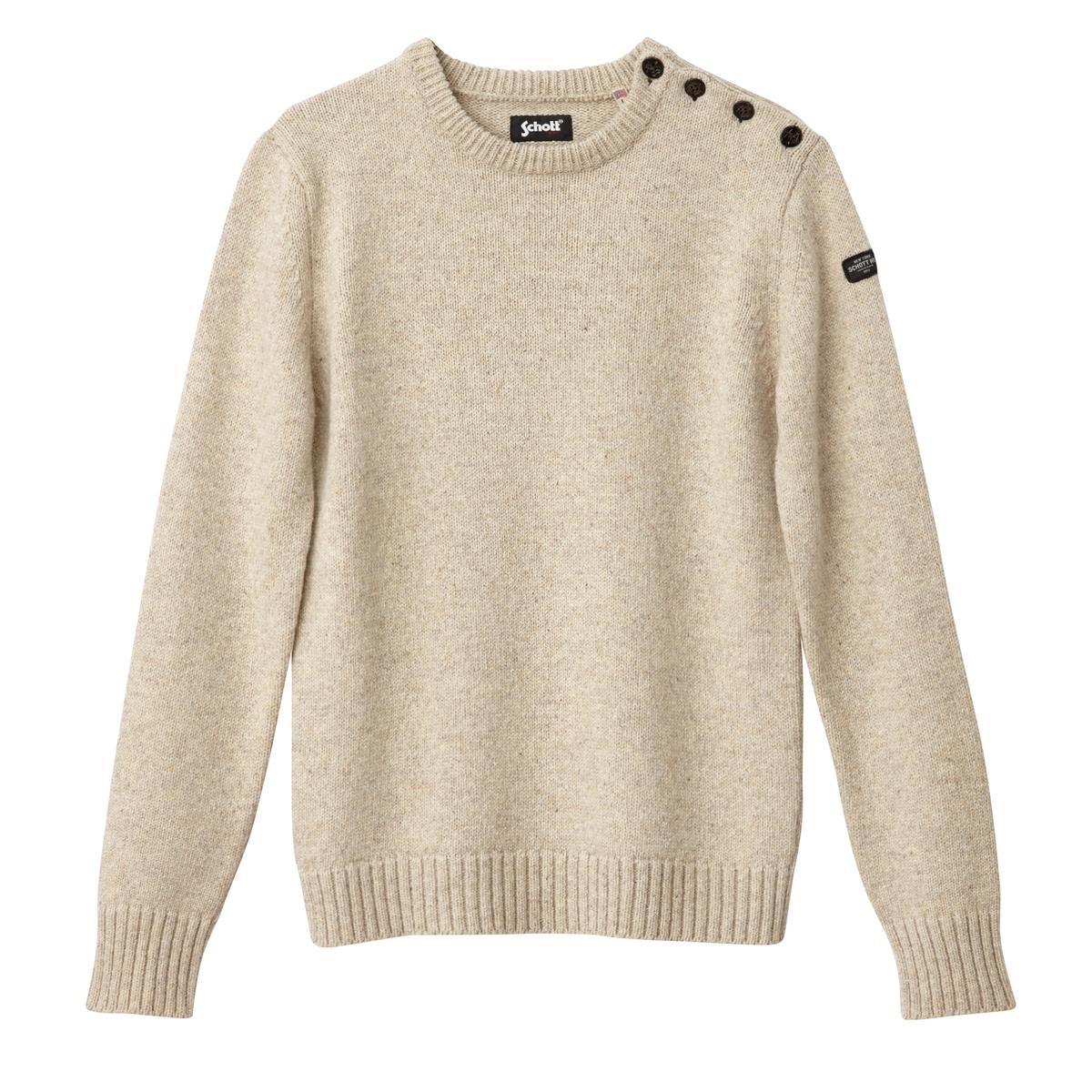 Пуловер классический