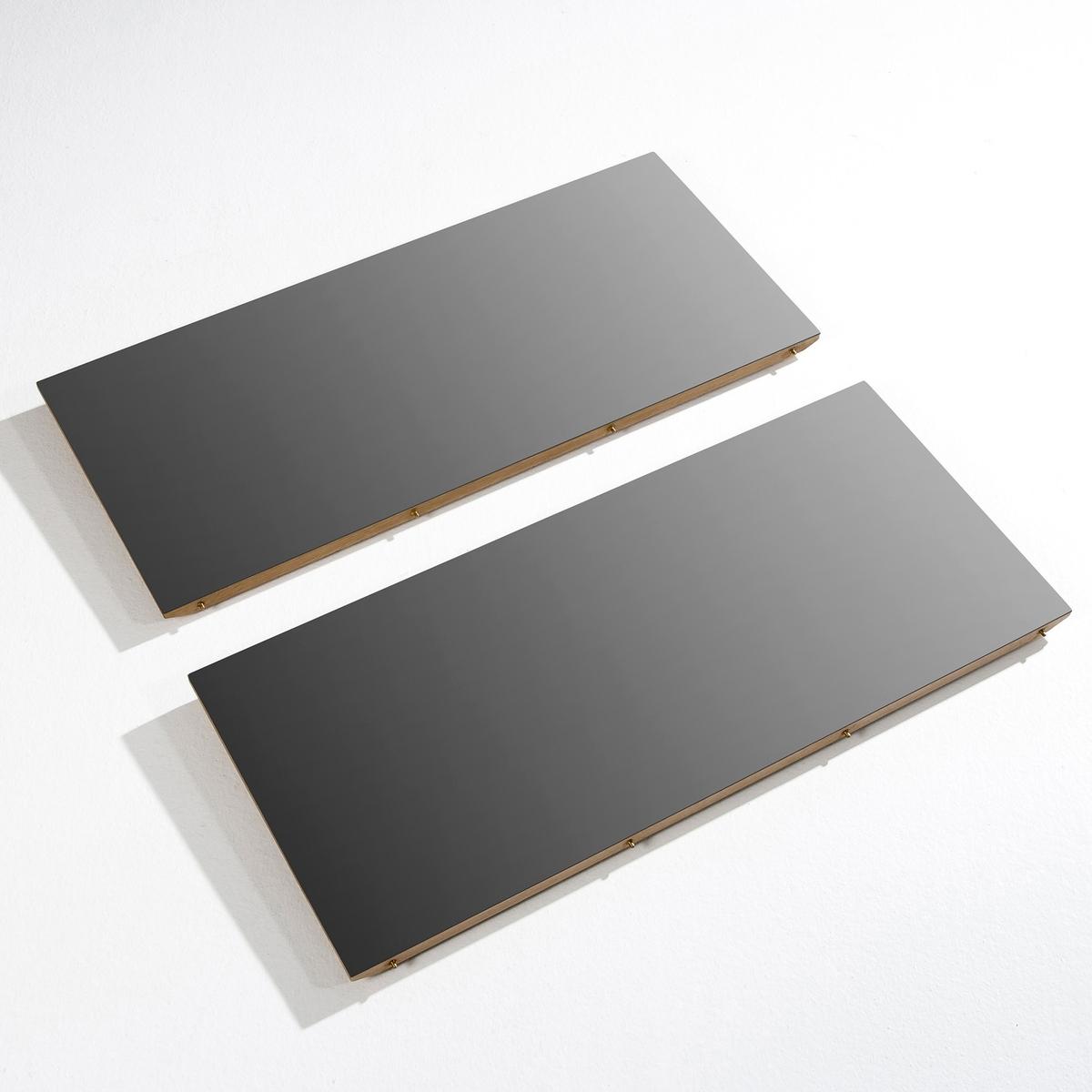 2 дополнительных секции для стола  Buondi2 дополнительных секции для стола Buondi (верх: дерево) выполнены в дизайне от Emmanuel Gallina, стол можно найти на нашем сайте.Характеристики:- МДФ, плакированный металл, отделка верха эпоксидной краской (плакированный дуб снизу).Размеры секции:- Дл. 40 x Выс. 2,2 x Гл. 90 см.Размеры и вес упаковки:- Дл. 102 x Выс. 10 x Гл. 51,5 см, 20 кг. Доставка на домВаш товар будет доставлен по назначению, даже на этажВнимание! Пожалуйста, убедитесь, что упаковка пройдет через проемы (двери, лестницы, лифты)<br><br>Цвет: металл черный