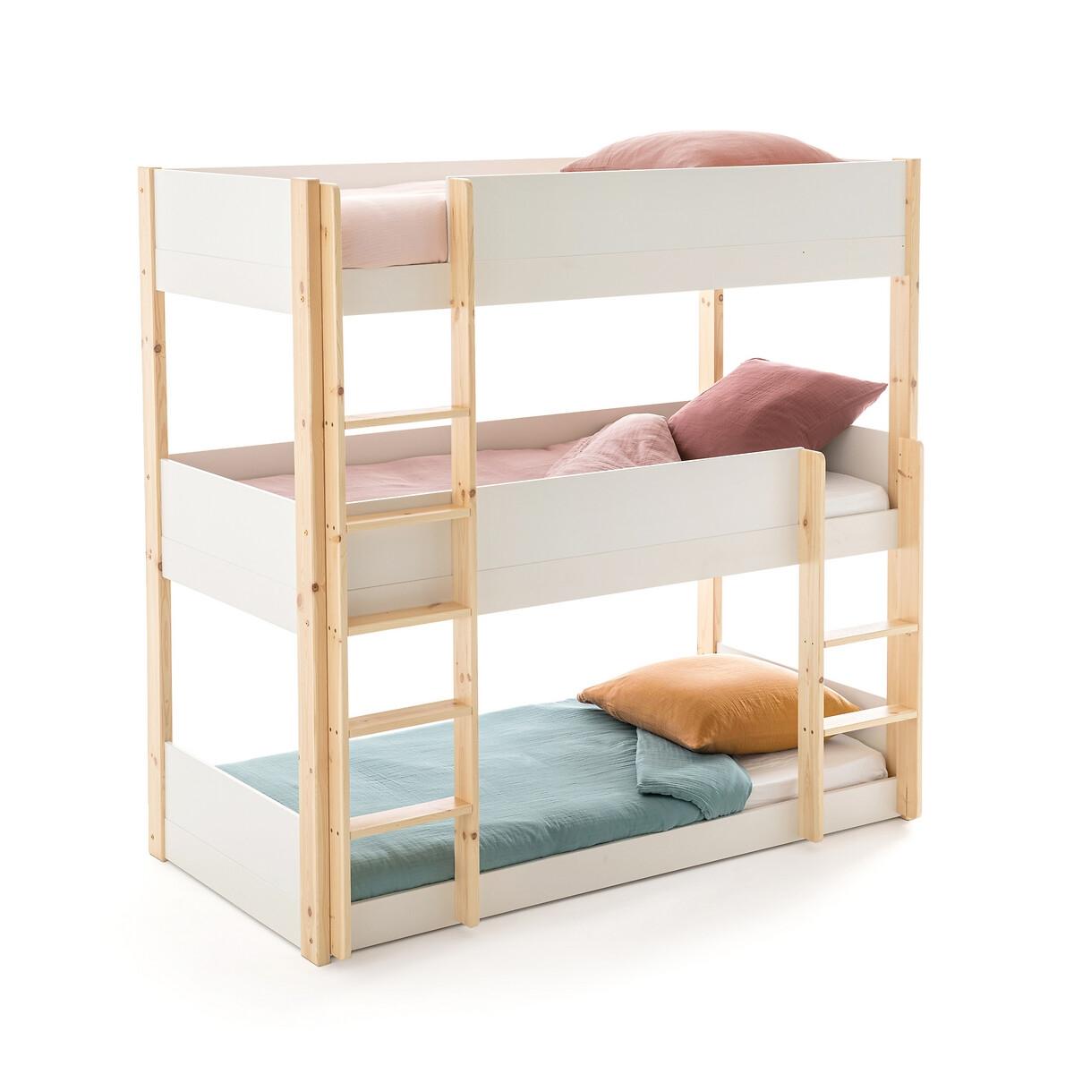 3-ярусная кровать LaRedoute MEETING 90 x 190 см белый