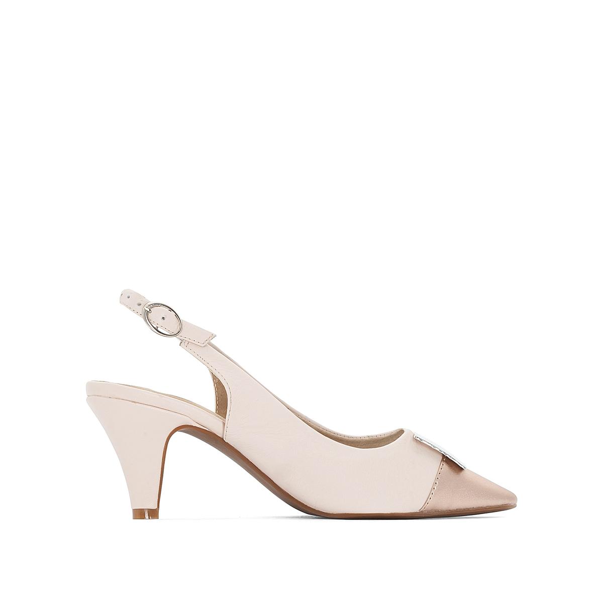 Imagen principal de producto de Zapatos de tacón de piel con correa en el tobillo - Anne weyburn