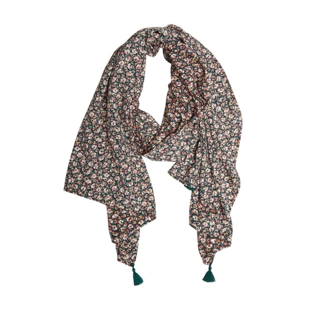 Foulard motif petites fleurs